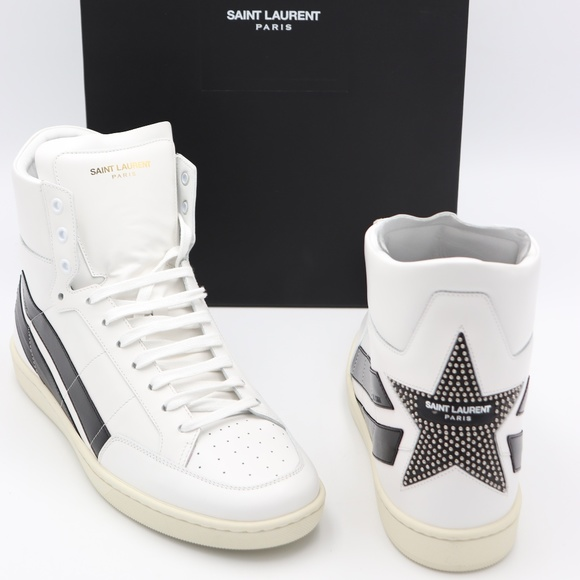 b419796a Saint Laurent Signature Court Classic Sneakers NWT